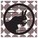 Rabbit at Night by Christie Au