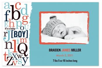 b is for Baby Boy Art Prints