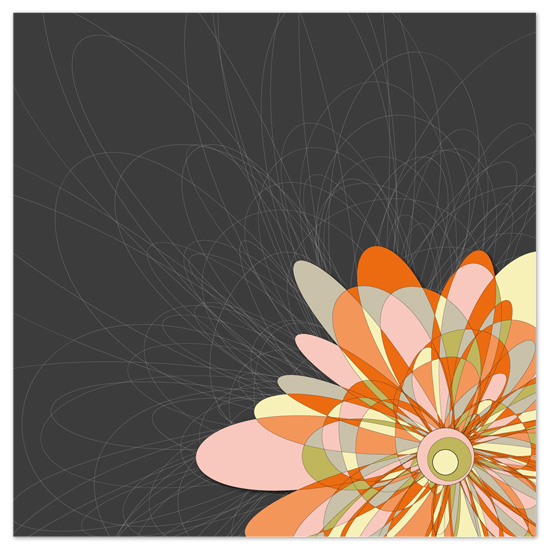 art prints - Scribble Blossom by Jenean Morrison