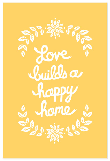 art prints - Love Builds