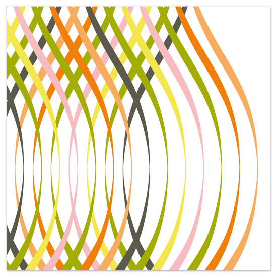 art prints - Ribbon Twist One by Jenean Morrison