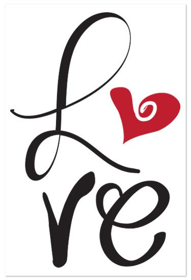 art prints - Love by Artsy Canvas Girl Designs