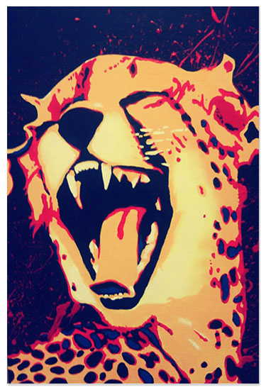 art prints - Aggressive Much by Artsy92