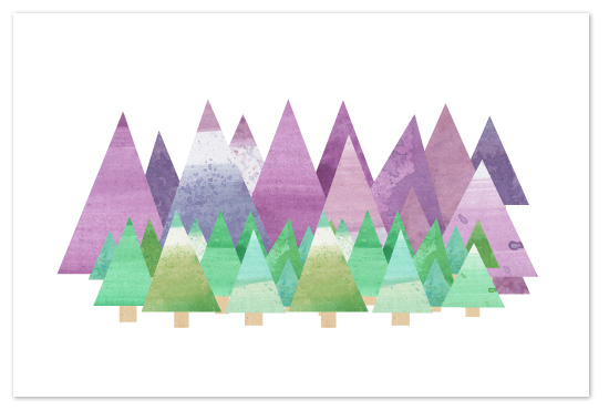art prints - Forest For the Trees by Amanda Claybrook