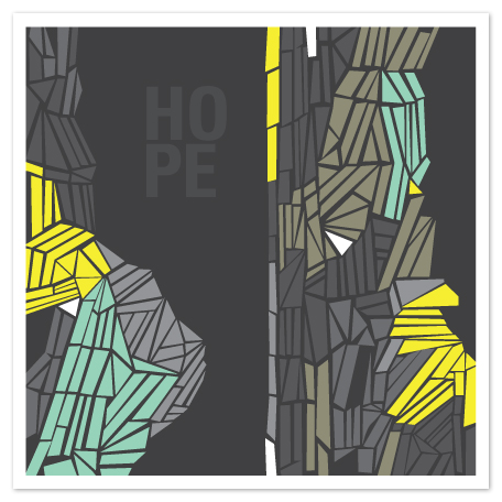 art prints - with hope by trbdesign