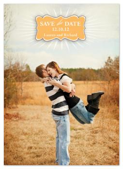 STARBURST Save the Date Cards