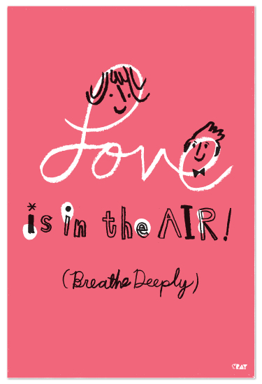 art prints - Love is in the air! by ERAY
