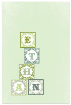 Baby Name Blocks Art Prints