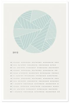 The Minimalist Calendar