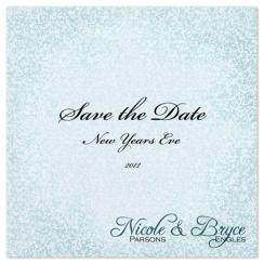 Sparkle and Shine Save the Date Cards