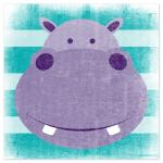 Stripey Hippo by Jill Zielinski Designs