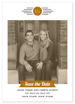 Retro Classic Save the Date Cards