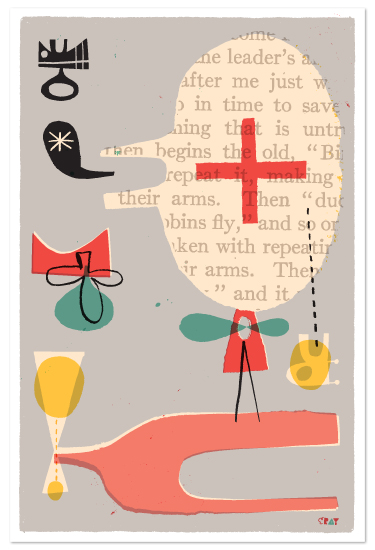 art prints - Fun Games That Make You Laugh by ERAY