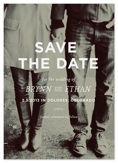 save the date cards - memento by annie clark
