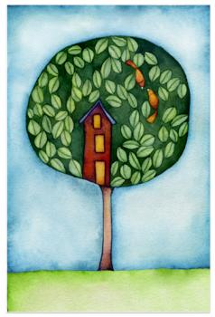 Treetop Love Art Prints