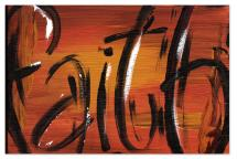 Faith Painting by Becky Enser