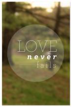 Love Never Fails by Becky Enser