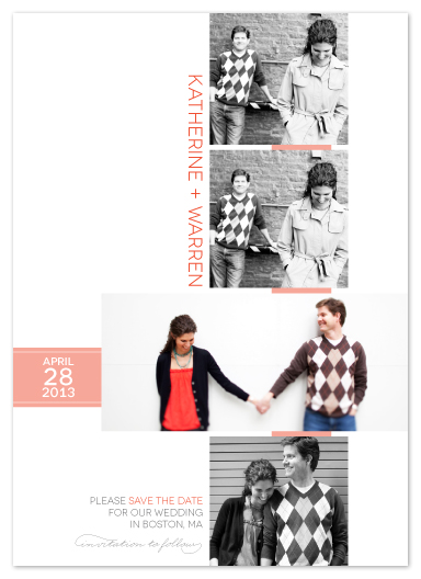 save the date cards - You Oughta Be in Pictures by hapamapa