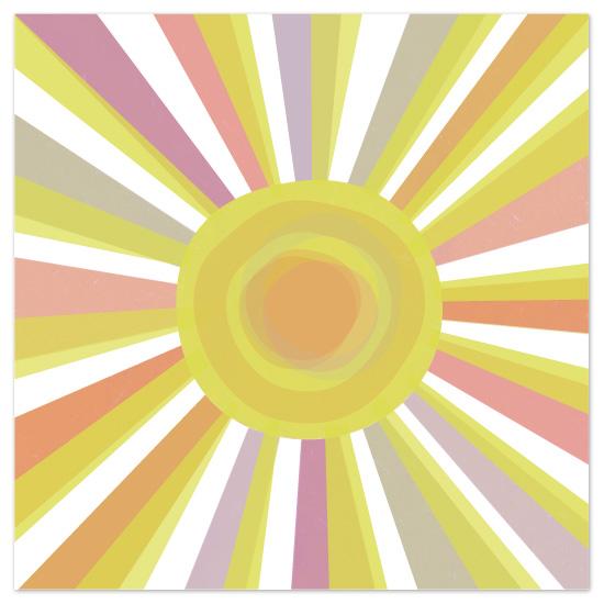 art prints - you are my sunshine by Sara Hicks Malone