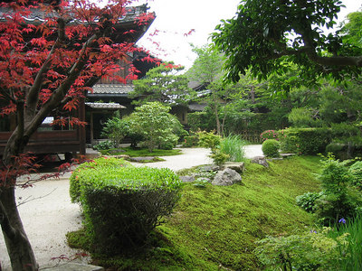 art prints - Japanese Garden by Niniane Wang