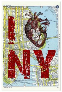 I Heart NY Art Prints