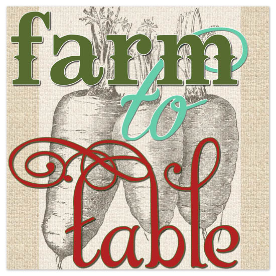 art prints - Farm to Table by Jennifer Burns