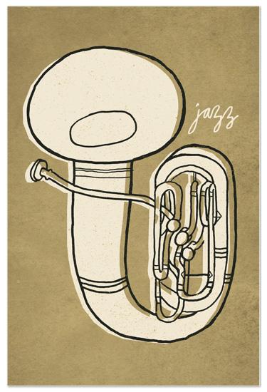art prints - Jazz Duet #2 by Moglea