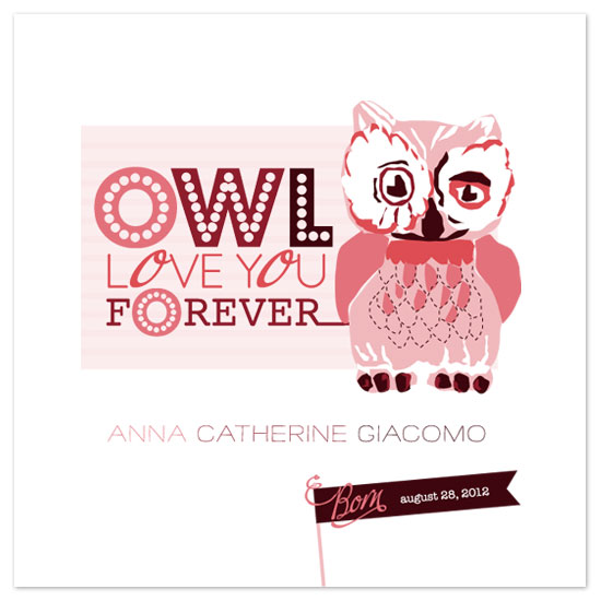 art prints - Owl Love You Forever by Abby Munn