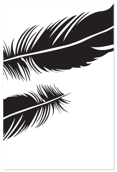 art prints - Feather II by Sarah Dohm