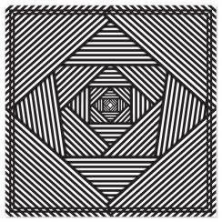 Line Matrix Art Prints