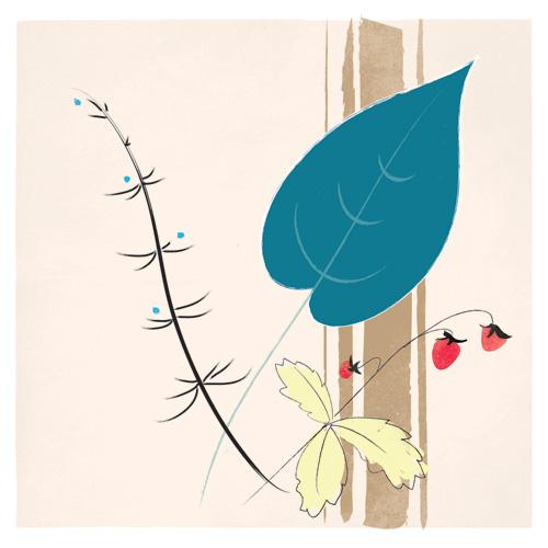 art prints - Meadow Walk No. 2 by Krista Messer