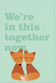 Foxy Love Art Prints