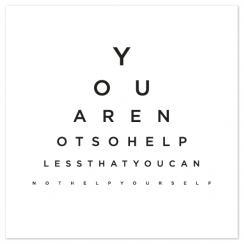 Truth Eye Chart
