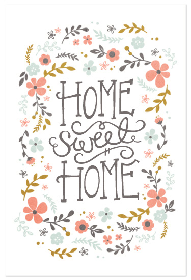 art prints - Home Sweet Home by Kristen Smith