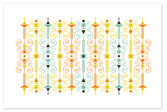 art prints - Scroll Finials by Jenean Morrison