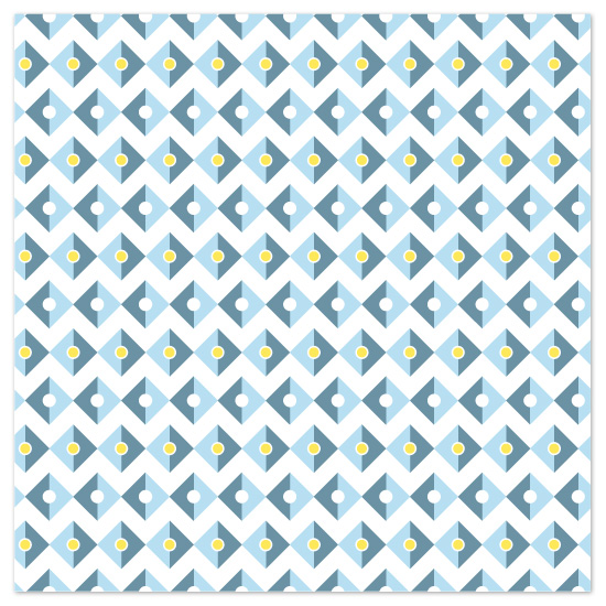 art prints - Modern Diamond Pattern by Jennifer Pace