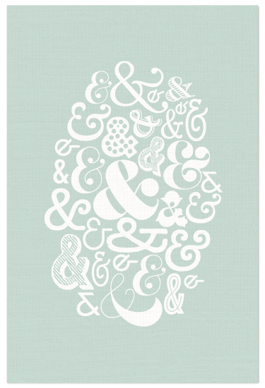 art prints - Eclectic Ampersand by Lauren Chism