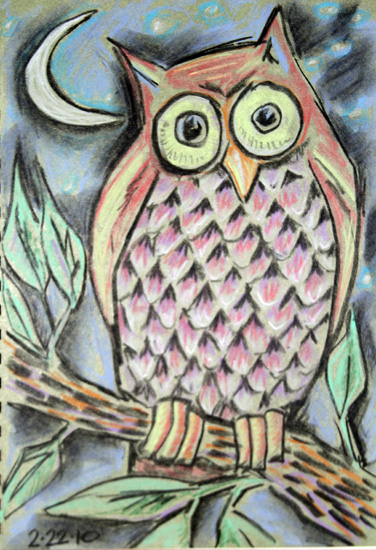art prints - Wise Owl by Karob
