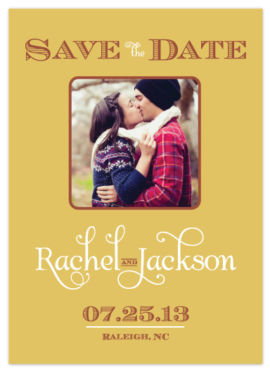 save the date cards - Modern Sophistication by Simply Shira