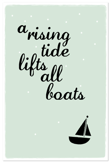 art prints - Rising Tide by Krista Messer