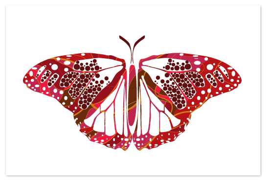 art prints - Kaleidoscope Monarch by Candice Leigh