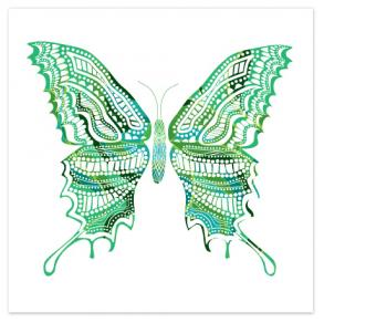 Kaleidoscope Swallowtail Art Prints