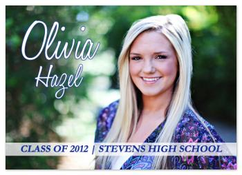 Lovely Style Graduation Announcements