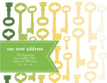 ombre key Moving Announcements