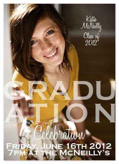 graduation announcements - Celebration by My Sweetie Pie