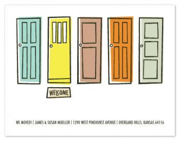 Shut the Front Door...We Moved!