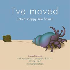 Snappy New Home Moving Announcements