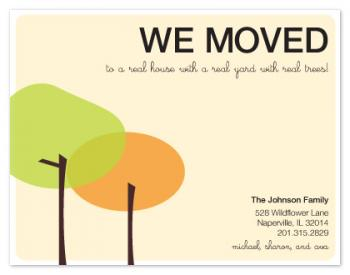 Real Trees Moving Announcements
