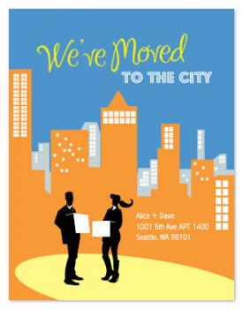 City Living Moving Announcements