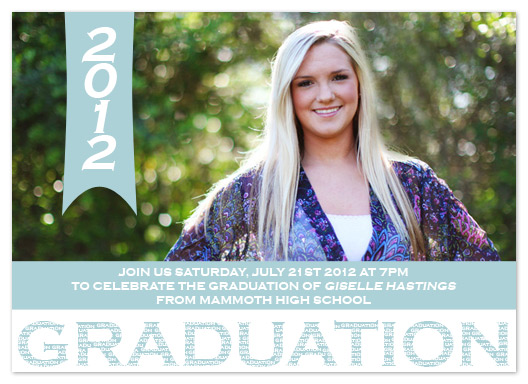 graduation announcements - Big Grad Mini Grad by My Sweetie Pie